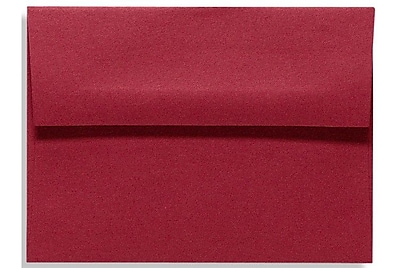 LUX A1 Invitation Envelopes (3 5/8 x 5 1/8) 50/Box, Garnet (EX4865-26-50)