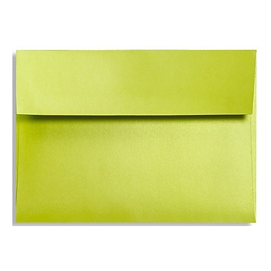 LUX A1 Invitation Envelopes (3 5/8 x 5 1/8) 1000/Box, Glowing Green (FA4865-03-1000)