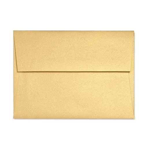 LUX A2 (4 3/8 x 5 3/4) 50/Box, Gold Metallic (5370-07-50)