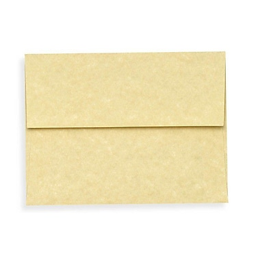 LUX A1 Invitation Envelopes (3 5/8 x 5 1/8), Gold Parchment, 250/Box (6665-14-250)