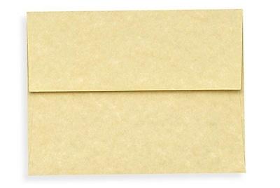 LUX A1 Invitation Envelopes (3 5/8 x 5 1/8) 50/Box, Gold Parchment (6665-14-50)