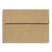 LUX A1 Invitation Envelopes (3 5/8 x 5 1/8) 50/Box, Grocery Bag (4865-GB-50)