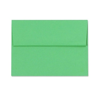 LUX A1 Invitation Envelopes (3 5/8 x 5 1/8) 50/Box, Holiday Green (FE4265-12-50)