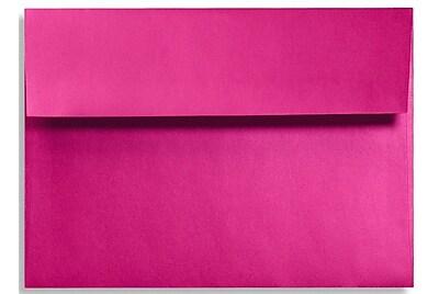 LUX A1 Invitation Envelopes (3 5/8 x 5 1/8) 50/Box, Hottie Pink (FA4865-04-50)