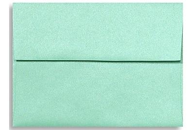 LUX A1 Invitation Envelopes (3 5/8 x 5 1/8) 50/Box, Lagoon Metallic (5365-27-50)