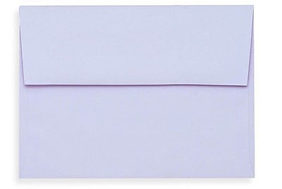 LUX A1 Invitation Envelopes (3 5/8 x 5 1/8) 250/Box, Lilac (SH4265-05-250)