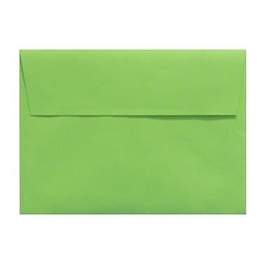 LUX A1 Invitation Envelopes (3 5/8 x 5 1/8) 50/Box, Limelight (LUX-4865-101-50)