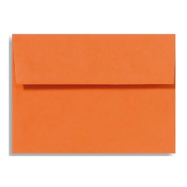 LUX A1 Invitation Envelopes (3 5/8 x 5 1/8) 50/Box, Mandarin (EX4865-11-50)