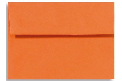 LUX A1 Invitation Envelopes (3 5/8 x 5 1/8) 1000/Box, Mandarin (EX4865-11-1000)