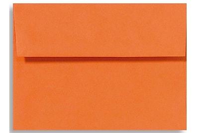 LUX A1 Invitation Envelopes (3 5/8 x 5 1/8) 50/Box, Mandarin (EX4865-11-50)