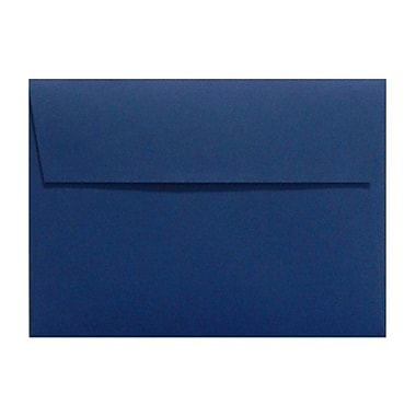 LUX A1 Invitation Envelopes (3 5/8 x 5 1/8) 50/Box, Navy (LUX-4865-103-50)