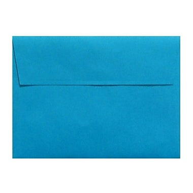 LUX A1 Invitation Envelopes (3 5/8 x 5 1/8) 50/Box, Pool (LUX-4865-102-50)
