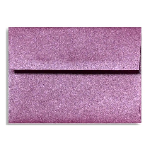 LUX A1 Invitation Envelopes (3 5/8 x 5 1/8) 50/Box, Punch Metallic (5365-28-50)