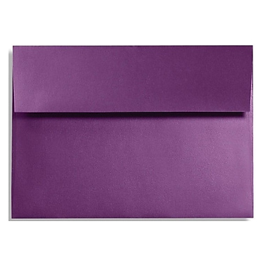 LUX A1 Invitation Envelopes (3 5/8 x 5 1/8) 50/Box, Purple Power (FA4865-06-50)
