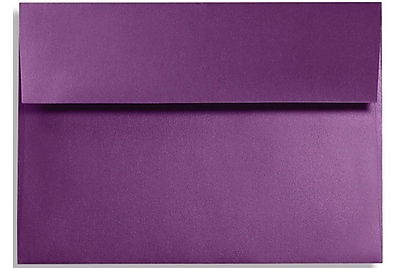 LUX A1 Invitation Envelopes (3 5/8 x 5 1/8) 250/Box, Purple Power (FA4865-06-250)