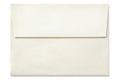 LUX A6 Invitation Envelopes (4 3/4 x 6 1/2) 50/Box, Quartz Metallic (5375-08-50)