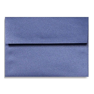 LUX A1 Invitation Envelopes (3 5/8 x 5 1/8) 50/Box, Sapphire Metallic (5365-18-50)