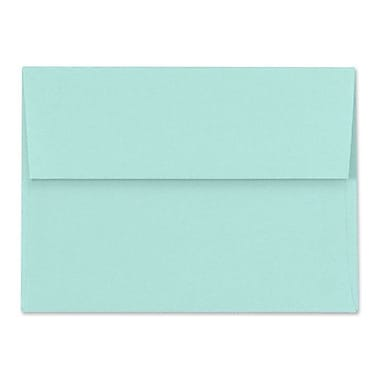 LUX A1 Invitation Envelopes (3 5/8 x 5 1/8) 500/Box, Seafoam (LUX-4865-113500)