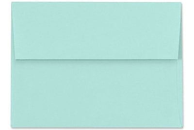 LUX A1 Invitation Envelopes (3 5/8 x 5 1/8) 1000/Box, Seafoam (LUX-48651131000)