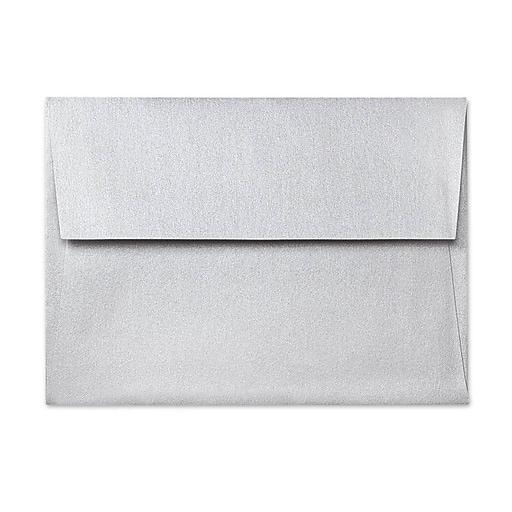 lux a7 invitation envelopes 5 1 4 x 7 1 4 1000 box silver