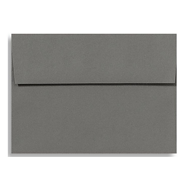 LUX A1 Invitation Envelopes (3 5/8 x 5 1/8) 50/Box, Smoke (EX4865-22-50)