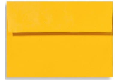 LUX A1 Invitation Envelopes (3 5/8 x 5 1/8) 50/Box, Sunflower (EX4865-12-50)