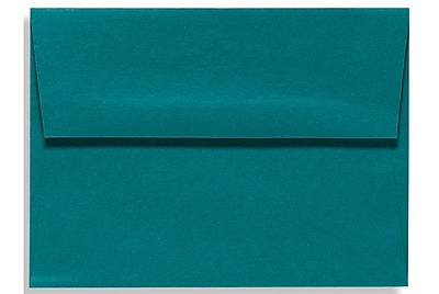 LUX A1 Invitation Envelopes (3 5/8 x 5 1/8) 50/Box, Teal (EX4865-25-50)