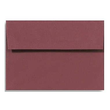 LUX A1 Invitation Envelopes (3 5/8 x 5 1/8) 50/Box, Wine (EX4865-19-50)