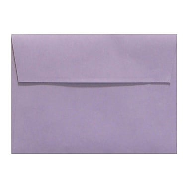 LUX A1 Invitation Envelopes (3 5/8 x 5 1/8), Wisteria, 50/Box (LUX-4865-106-50)