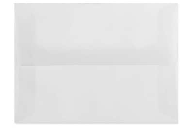 LUX A10 Invitation Envelopes (6 x 9 1/2) 250/Pbox, Birch Translucent (4890-27-250)
