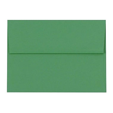 LUX A9 Invitation Envelopes (5 3/4 x 8 3/4) 50/Box, Holiday Green (89129-50)