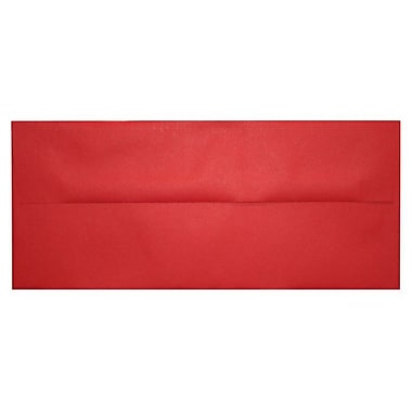 LUX A10 Invitation Envelopes (6 x 9 1/2), Holiday Red, 50/Box (67153-50)