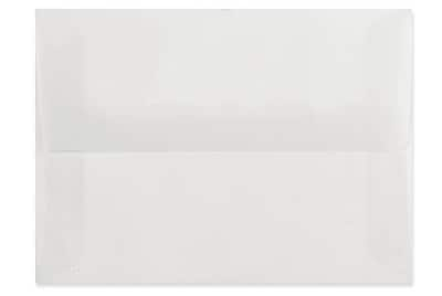 LUX A10 Invitation Envelopes (6 x 9 1/2) 250/box, Platinum Translucent (4890-31-250)
