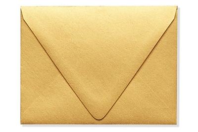 LUX A2 Contour Flap - Metallics - Gold 500/Box) 500/Box, Gold Metallic (1870-07-500)