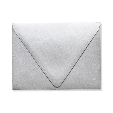 LUX A2 Contour Flap - Metallics - Silver 1000/Box) 1000/Box, Silver Metallic (1870-06-1000)