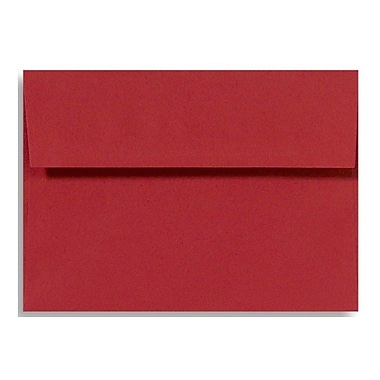 LUX A2 (4 3/8 x 5 3/4) 50/Box, Holiday Red (FE4270-15-50)