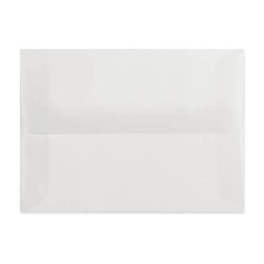 LUX A2 Invitation Envelopes (4 3/8 x 5 3/4) 250/box, Platinum Translucent (4870-31-250)