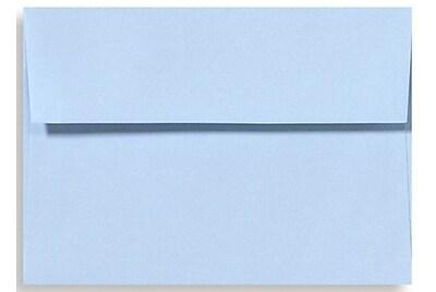 LUX A4 Invitation Envelopes (4 1/4 x 6 1/4) 50/Box, Baby Blue (LUX-4872-13-50)