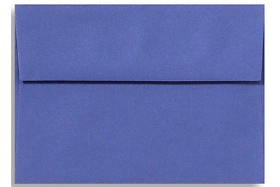 LUX A4 Invitation Envelopes (4 1/4 x 6 1/4) 50/Box, Boardwalk Blue (LUX-4872-23-50)