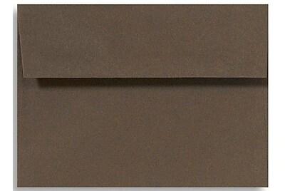 LUX A4 Invitation Envelopes (4 1/4 x 6 1/4) 250/Box, Chocolate (LUX-4872-17-250)