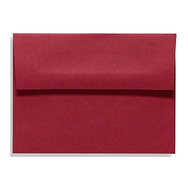 LUX A4 Invitation Envelopes (4 1/4 x 6 1/4) 50/Box, Garnet (LUX-4872-26-50)