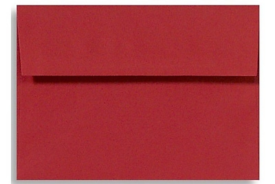 LUX A4 Invitation Envelopes (4 1/4 x 6 1/4) 1000/Box, Holiday Red (4872-R-1000)