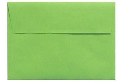 LUX A4 Invitation Envelopes (4 1/4 x 6 1/4) 50/Box, Limelight (LUX-4872-101-50)