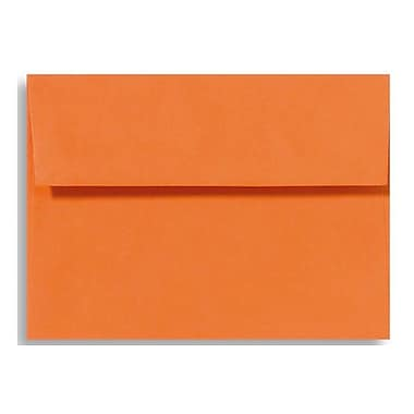 LUX A4 Invitation Envelopes (4 1/4 x 6 1/4), Mandarin, 250/Box (LUX-4872-11-250)