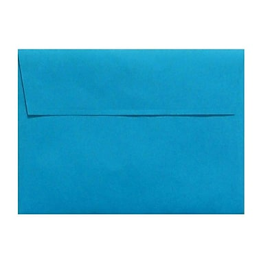 LUX A4 Invitation Envelopes (4 1/4 x 6 1/4) 250/Box, Pool (LUX-4872-102-25)
