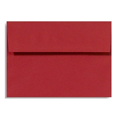 LUX A4 Invitation Envelopes (4 1/4 x 6 1/4), Ruby Red, 50/Box (LUX-4872-18-50)