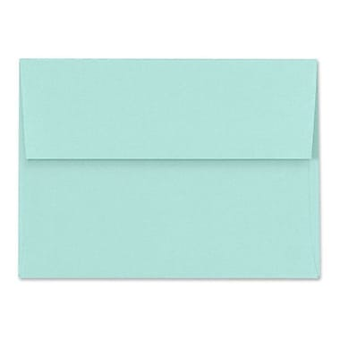 LUX A4 Invitation Envelopes (4 1/4 x 6 1/4) 50/Box, Seafoam (LUX-4872-113-50)
