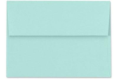 LUX A4 Invitation Envelopes (4 1/4 x 6 1/4) 50/Box, Seafoam (LUX-4872-113-50)