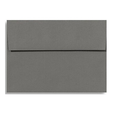 LUX A4 Invitation Envelopes (4 1/4 x 6 1/4) 50/Box, Smoke (LUX-4872-22-50)
