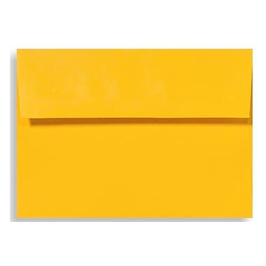 LUX A4 Invitation Envelopes (4 1/4 x 6 1/4), Sunflower, 250/Box (LUX-4872-12-250)
